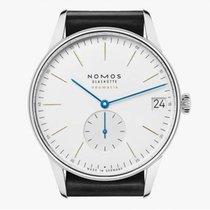 NOMOS Orion Neomatik Acier 41mm Blanc Sans chiffres