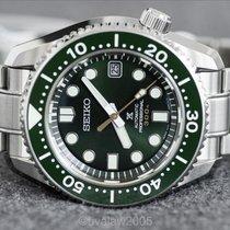 Seiko Marinemaster Steel 44.3mm Green No numerals