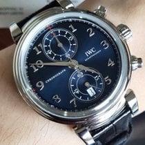 IWC Da Vinci Chronograph Stahl 42mm Blau Arabisch Deutschland, Duisburg