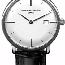 Frederique Constant Slimline Automatic Steel 43mm Silver United States of America, New York, Brooklyn