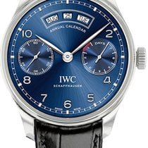 IWC Portuguese Annual Calendar Steel Blue United States of America, New York, Brooklyn