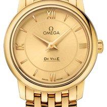 Omega De Ville Prestige nuevo 2020 Cuarzo Reloj con estuche original