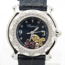 Chopard Happy Sport Floating Fish With Diamond Bezel Lady's...