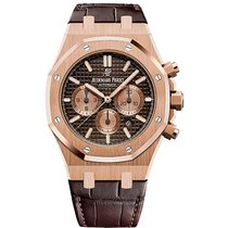 Audemars Piguet Royal Oak Chronograph Rose gold 41mm Brown United States of America, Pennsylvania, Holland