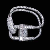 Van Cleef & Arpels Platina 72mm Handopwind Van Cleef & Arpels Circa 1941 PLATINUM Pave diamond  Cadenas nieuw