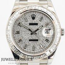 Rolex Datejust Diamonds Aftermarket Box/Papers 2012