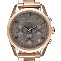 a4c76768d24 Nixon A949-2214 Bullet Chrono 36mm Rose Gold Taupe 5ATM
