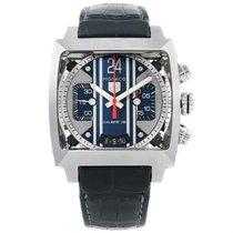 TAG Heuer Monaco 24 Steve Mcqueen Automatic Chronograph Watch...
