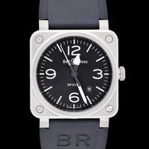 Bell & Ross BR 03-92 Steel Steel 42mm Black United States of America, California, San Mateo