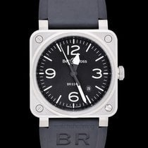 Bell & Ross Steel 42mm Automatic BR0392-BLC-ST new United States of America, California, San Mateo