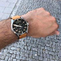 Hamilton Khaki Pilot Day Date Acero 42mm Negro