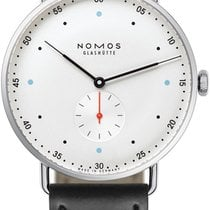 NOMOS Metro 38 Steel 38.5mm White United States of America, New York, Airmont