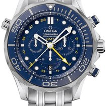 Omega Seamaster Diver 300 M Steel 44mm Blue United States of America, New York, Airmont