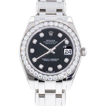 Rolex Pearlmaster White gold 34mm Black United States of America, Georgia, Atlanta