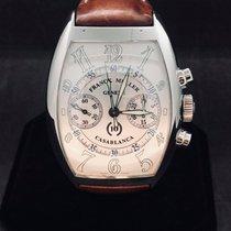 Franck Muller Casablanca Steel 39mm White Arabic numerals