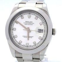 Rolex Datejust II Steel 41mm Silver Roman numerals