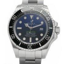 Rolex Sea-Dweller Deepsea pre-owned 44mm Blue Date Steel