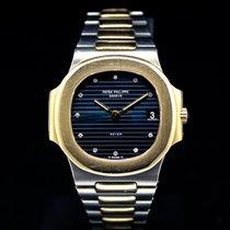 Patek Philippe 3800 Guld/Stål 1987 Nautilus begagnad