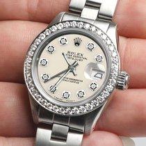 Rolex Lady-Datejust Stahl 26mm Champagnerfarben