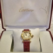 Cartier Diabolo Yellow gold 27mm Silver Roman numerals United States of America, Texas, Fort Worth