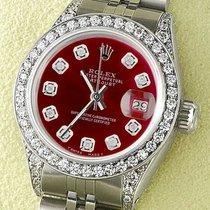 Rolex Datejust Acero 26mm Rojo