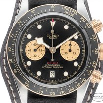 Tudor 79363N Gold/Steel 2019 Black Bay Chrono 41mm new