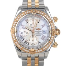Breitling Chronomat Evolution Gold/Steel 44mm White Roman numerals United States of America, Maryland, Baltimore, MD