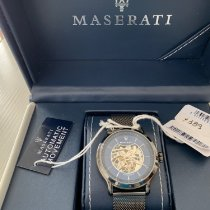 Maserati Steel 42mm Automatic R8823118002 new