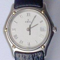 Ebel Classic Steel 28mm Silver Roman numerals