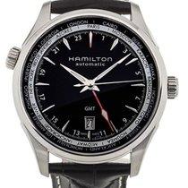 Hamilton 42mm Automatik neu Jazzmaster GMT Auto Schwarz
