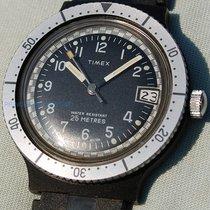 Timex In Stile Militare D'epoca Con Movimento Carica Manuale
