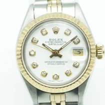 """Rolex Oyster Perpetual Lady """"Datejust"""" Two Tone White Diamond..."""