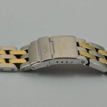 Breitling Pilot Armband Stahl/gold 19mm 340d Wings Herren Uhr
