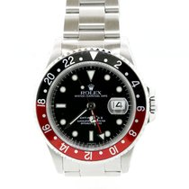 "Rolex GMT-Master II Black-Red ""Coke"" With PAPER"