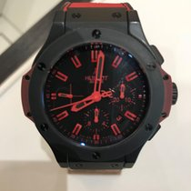 Χίμπλοτ (Hublot) Hublot Big Bang 44 mm All Black Red Limited...