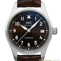 IWC Pilot's Watch Automatic 36 Staal 36mm Bruin Arabisch
