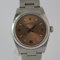 Rolex Oyster Perpetual LC100 Pink Dial #A3369 Box, Papiere