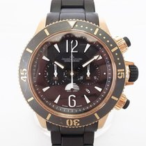 Jaeger-LeCoultre Master Compressor Diving Chronograph GMT Navy SEALs usados 46mm Caucho