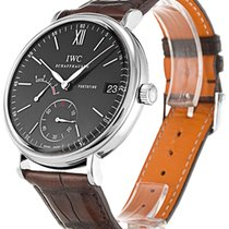 IWC Portofino Hand-Wound Steel 45mm Black
