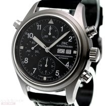 IWC Doppelchronograph Pilots Rattrapante Ref-3713 Stainless...