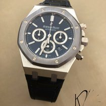 Audemars Piguet Royal Oak Chronograph Platin 41mm Blau Schweiz, Geneva