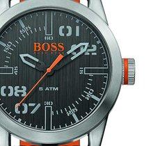 Hugo Boss Aço 44mm Quartzo 1513417 novo