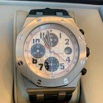 Audemars Piguet Royal Oak Offshore Chronograph Çelik 42mm Gümüş Arapça Türkiye, istanbul