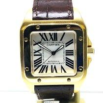 Cartier Santos 100 brukt Gult gull
