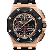 Audemars Piguet Royal Oak Offshore Chronograph Rose gold 44mm Black No numerals United States of America, Iowa, Des Moines