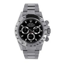 Rolex Daytona Stainless Steel Black Ceramic Bezel Watch 116500LN
