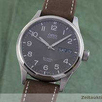 Oris Big Crown ProPilot Day Date Stal 45mm Szary