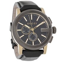 Gucci Steel 44mm Quartz YA101203 pre-owned