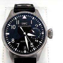 IWC Big Pilot Steel 46mm Black Arabic numerals