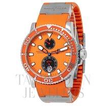 Ulysse Nardin Maxi Marine Diver Steel 43mm Orange United States of America, New York, Hartsdale
